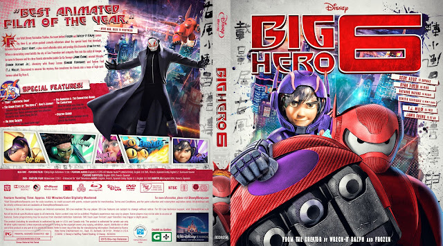 Capa Bluray Big Hero 6
