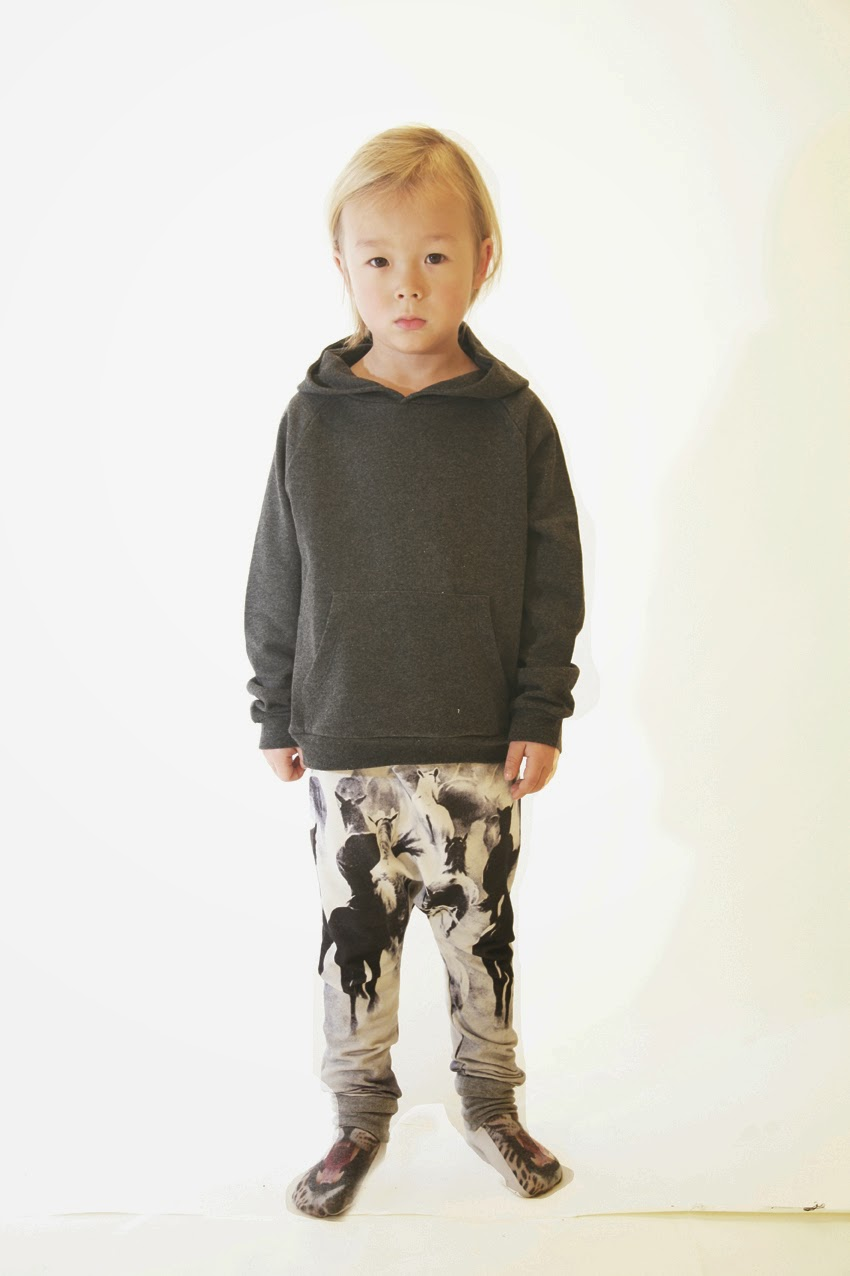 Baggy pants with savage horses and super cool socks! Popupshop AW14