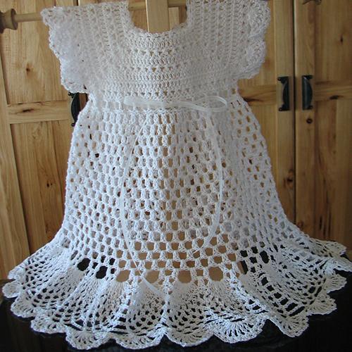 Pretty Pinafore Baby Dress
