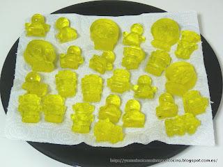 gelatina lavada