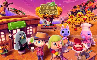 #13 Animal Crossing Wallpaper