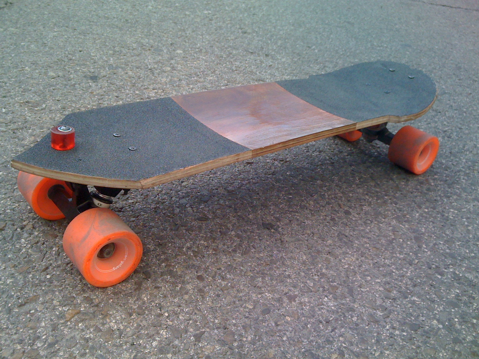 how to stop on a longboard