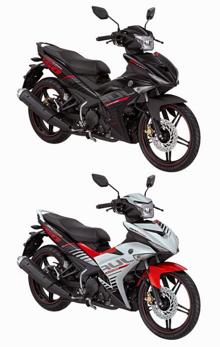 pilihan warna Yamaha Jupiter MX King 150