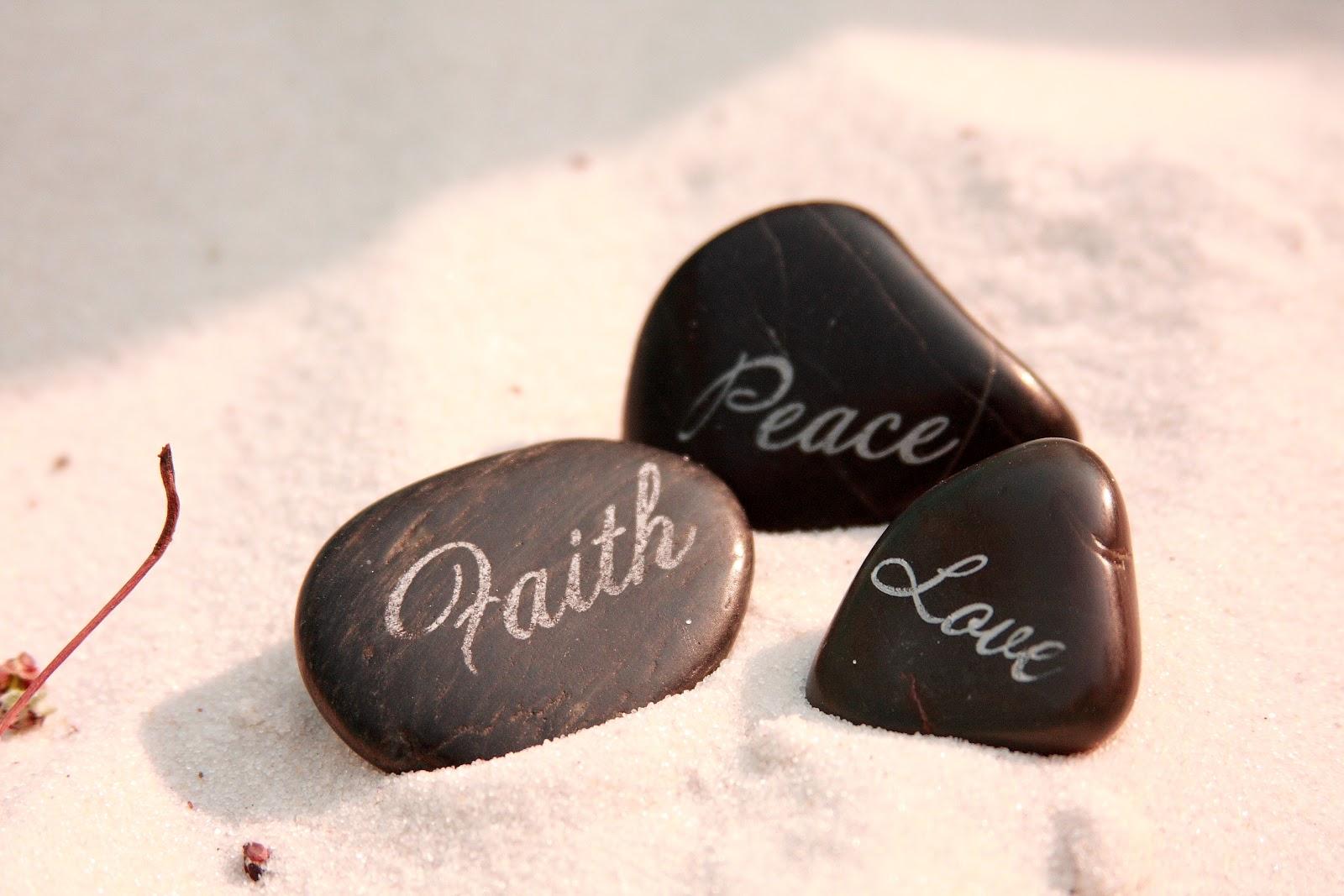 Inspirational Garden Stones - PictureIt Creations, LLC on