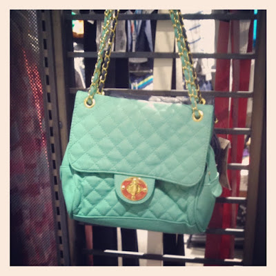 MINT BAG PULL&BEAR- BORSA COLOR MENTA