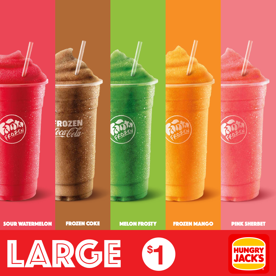 Hungry Jack S Frozen Drinks