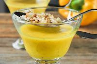 sopa fría de pimientos y estragón