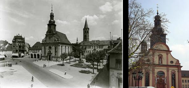 Frankenthal Marketplatz