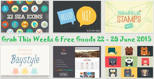 Download this weeks freebies