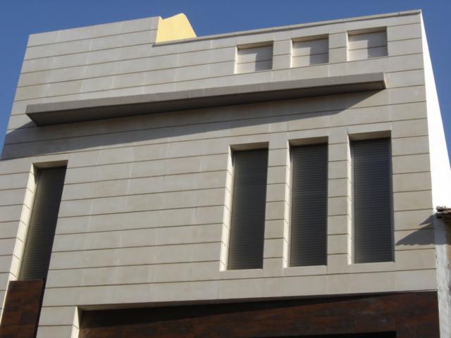 Piedra artificial perleta trabajos realizados - Aplacado piedra fachada ...