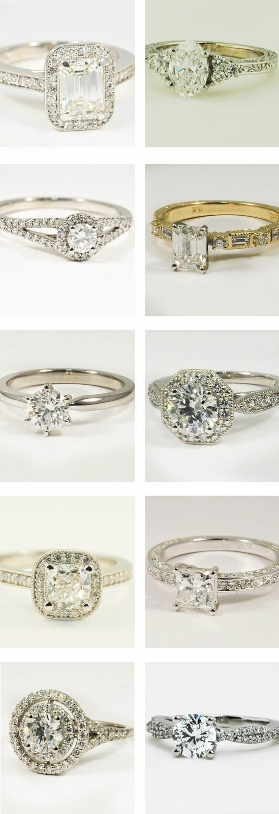 Ethical Engagement Rings by Brilliant Earth