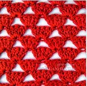 Punto crochet calado #5