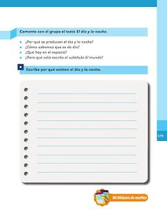 Apoyo Primaria Español 1er grado Bimestre V lección 3 Artículo informativo