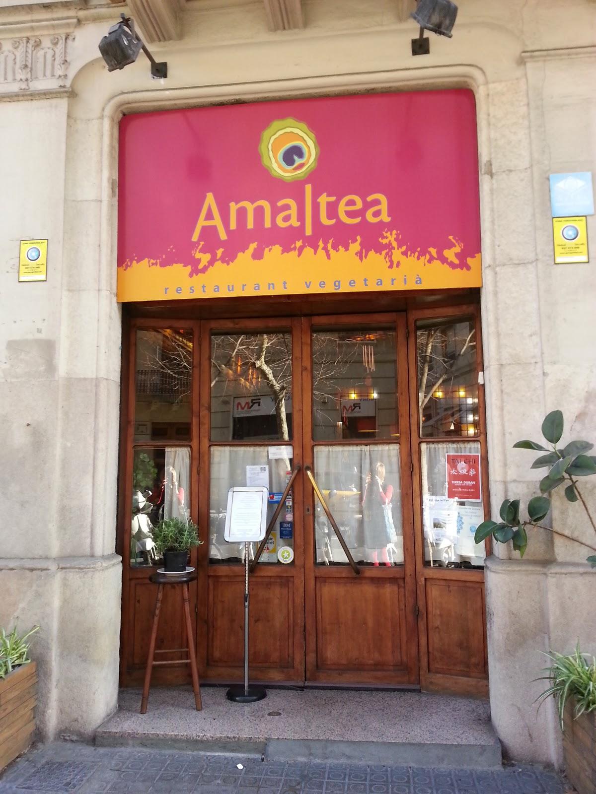 Amaltea, Barcelona, vegan