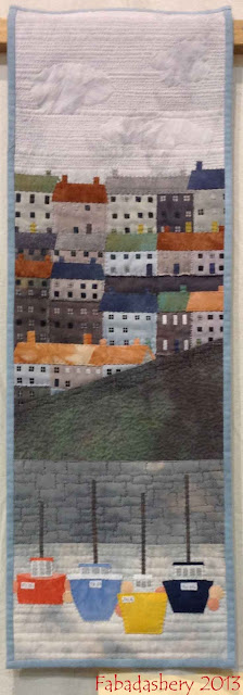 Mevagissey by Di Wells, South West Quilters