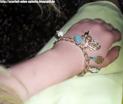 Charm Bracelet, Anhänger, verspielt, h&m, bijou brigitte, bijou brigitte armband