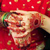 Floral Patterned Indian Bridal Mehndi Designs