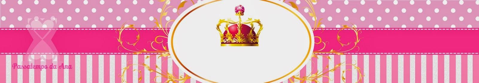 Corona De Reina Mini Kit Para Imprimir Gratis Oh My
