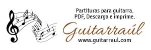 Partituras de Guitarra www.guitarraul.com