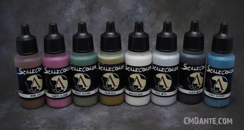 Selection of Scale75 Metallics Paints - CMDante.com