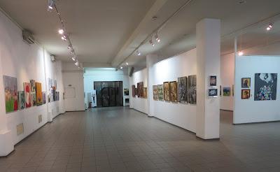 """Фрагмент экспозиции """"Украинская неделя искусств"""" в Доме художника"""