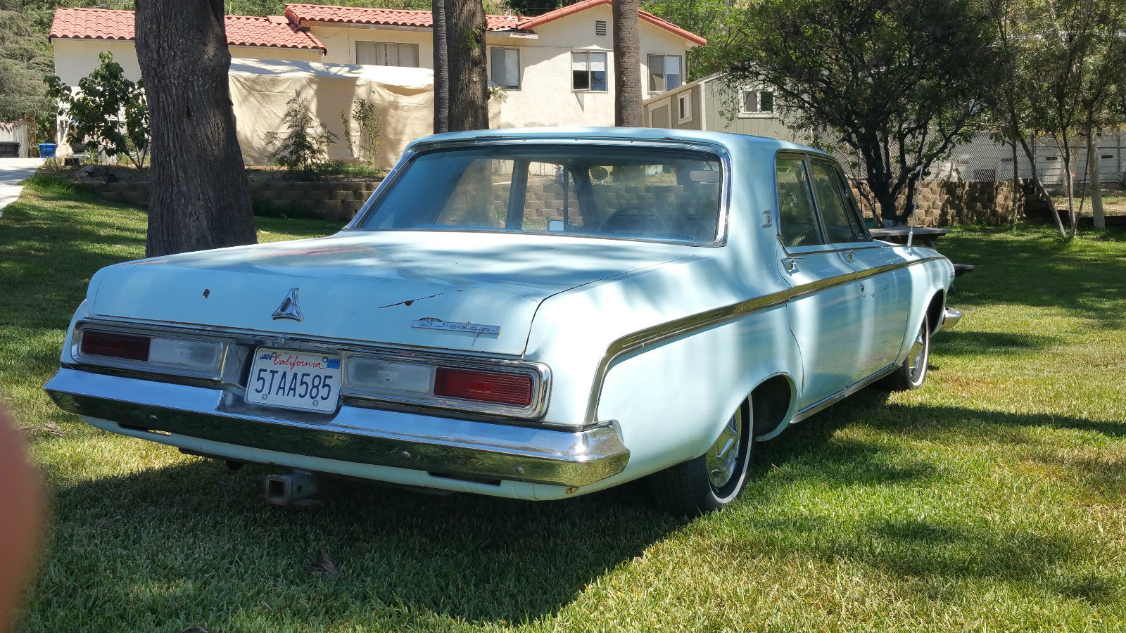 All American Classic Cars 1963 Dodge Polara 4 Door Sedan Hardtop