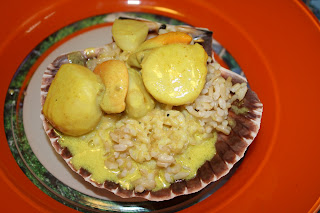 ricetta capesante al curry