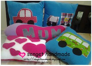 pillows handmade