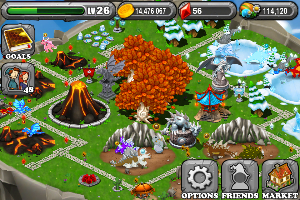 Closer Look at DragonVale for the iPhone