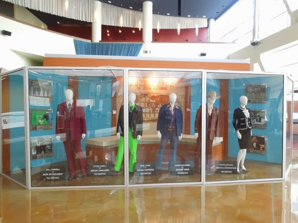 Anchorman 2 movie costume exhibit