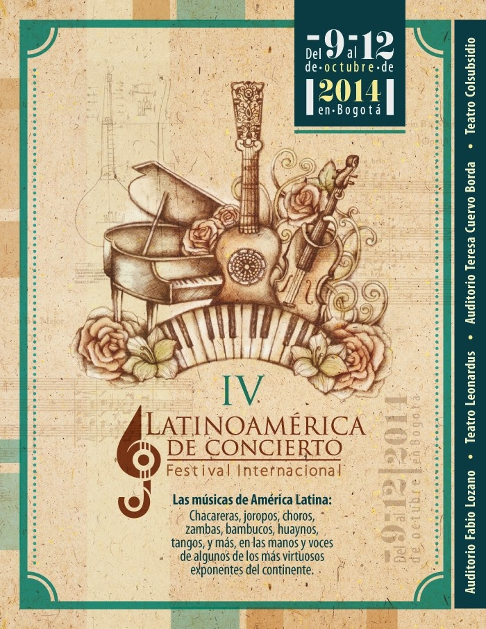 IV Festival Internacional Latinoamérica de Concierto en Bogotá