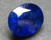 Batu Akik Safir Biru
