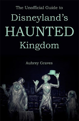 Book cover showing the three hitch hiking ghosts from the Haunted Mansion