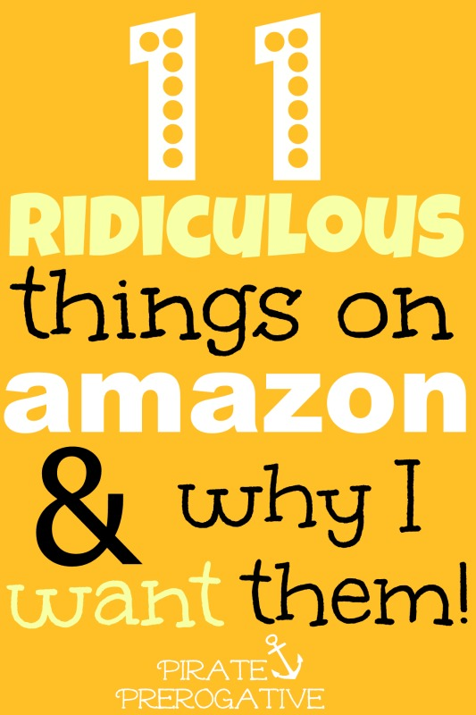 The 11 Most Ridiculous Things on Amazon & Why I Want Them