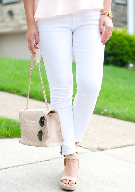 tory burch fleming bag and rayban aviators