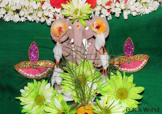 Ganesha crafts for kids Festival Idol