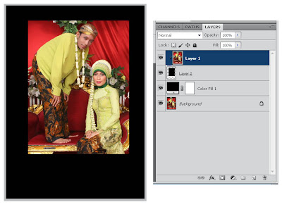 Tutorial Dasar Membuat Effect Foto Polaroid Dengan Photoshop