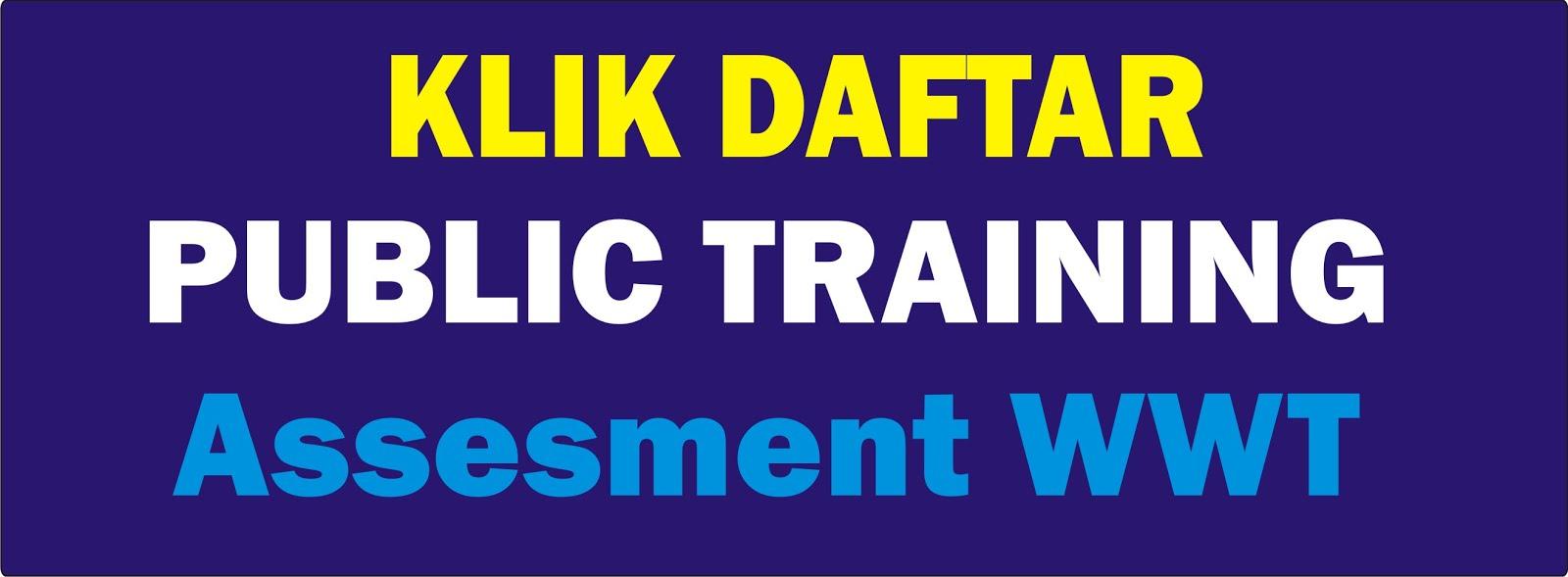 Form Pendaftaran Peserta Training - AWWT/IPAL