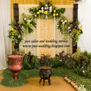 yusi salon and wedding website: siraman dan midodareni