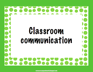coomunication in the classroom • enhances communication – classroom allows teachers to send announcements and start class discussions instantly.