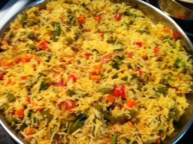 Vegetable Biryani Recipe — Dishmaps