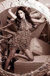 sonal_chauhan-in-grey-dress