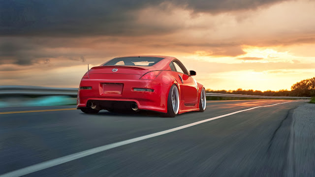 Autos Tuneados Nissan 350Z Rojo