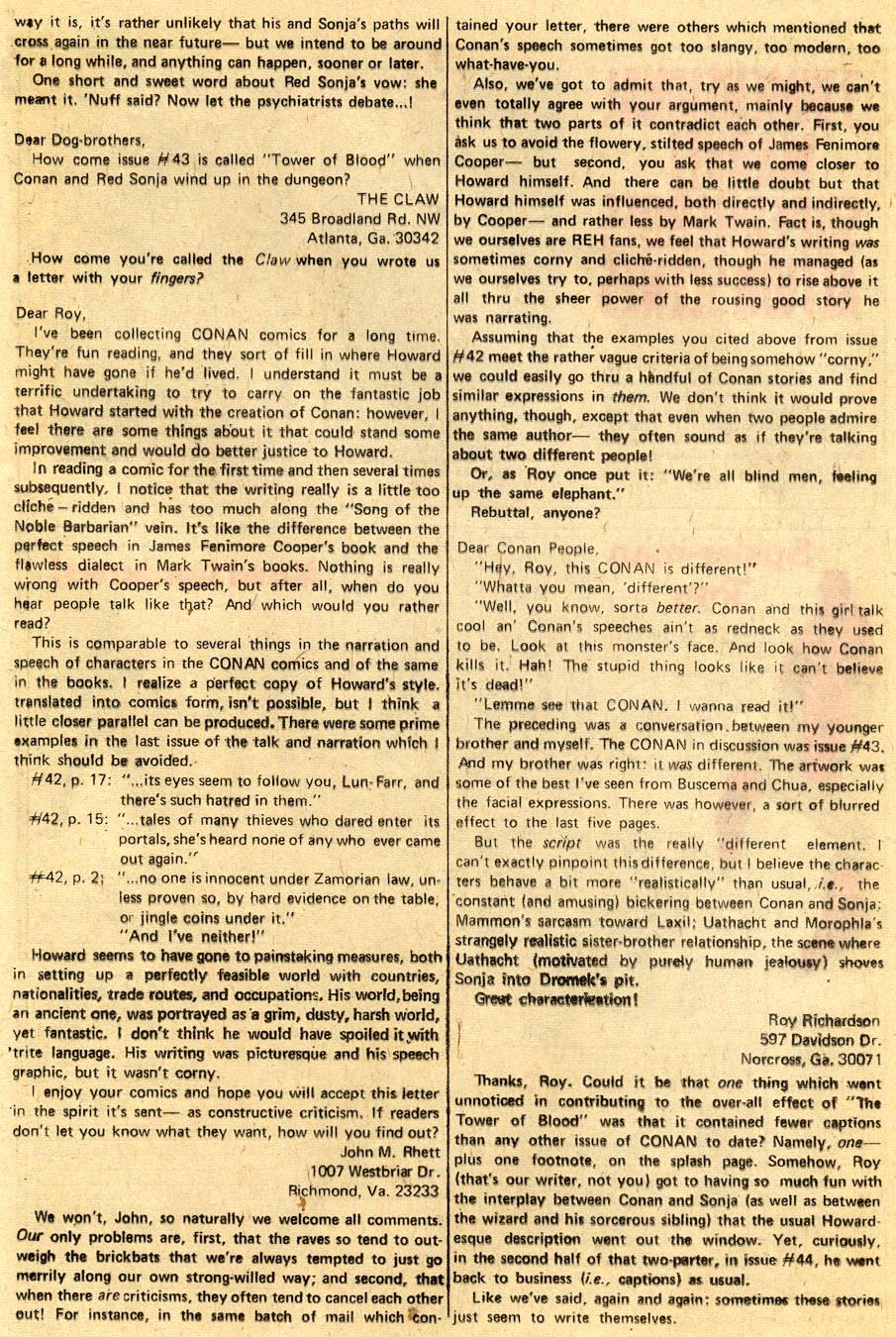 Conan the Barbarian (1970) Issue #47 #59 - English 22