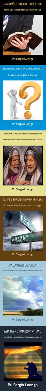Livros do Pr. Sergio Luongo