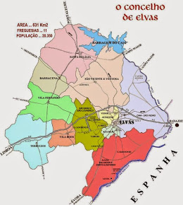 MAPA DO CONCELHO DE ELVAS