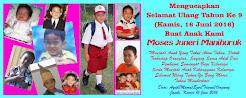 Selamat Ulang Tahun Ke 9 Moses Juneri Manihuruk