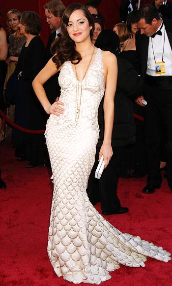 Oscar 2008 marion cotillard with a pervert