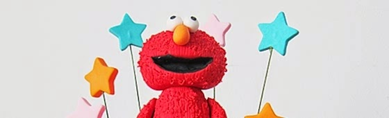 Header picture of Sesame Street Elmo Theme cake