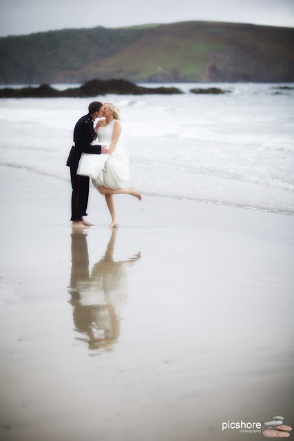 Wembury beach devon wedding Picshore Photography